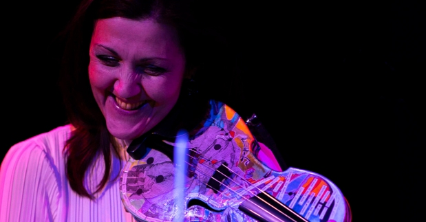Violinist Sarah Curro